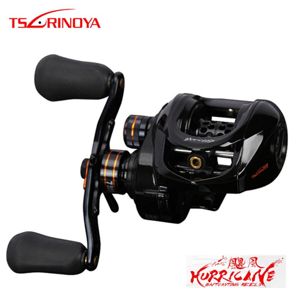 tsurinoya baitcasting carretel de pesca alta intensidade corpo 6 6 1 6 1bb arrastar potencia 4kg