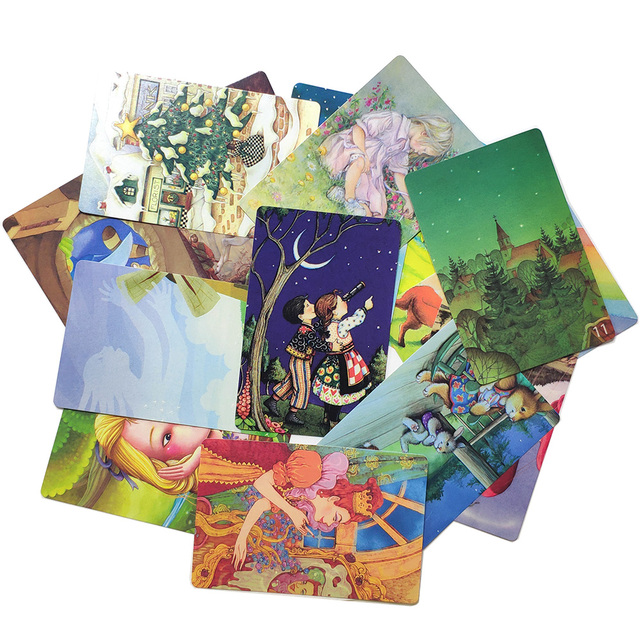 Mini tell story Card Game deck 11- Serenity 78 Cards for Kids Education Gifts Family home Party Fun Board Game 4