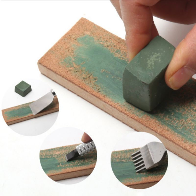 New Practical Polishing Compound Fine Buffing Compound Leather Strop Sharpening Polishing Compounds Polishing Paste