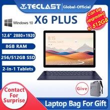 Teclast X6 Plus Tablet Notbook 2 in 1 Windows 10 Touch Screen Intel Gemini 8GB RAM 256GB 512GB SSD 12.6 pollici 2880*1920 FHD IPS