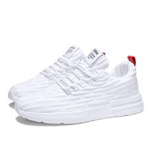Men's Flying Weaving Shoes Man Breathable Running Shoes for Men Sneakers Bounce Summer Outdoor Sport Professional Training Shoes laisumk man breathable shoes for men sneakers bounce summer outdoor shoes professional shoes brand designer