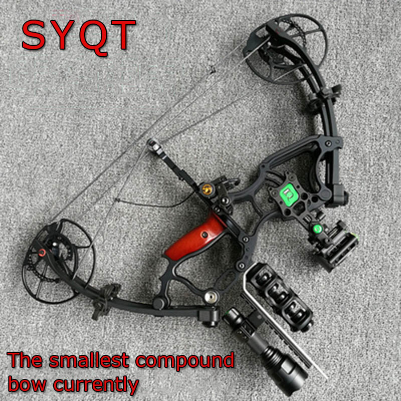 Car Hunting  Compound Bow 40-70 Lbs  Short Axis Triangle Bow Shot Fishing  Outdoor Professional Tree Stand Hunting Fish Game Bow