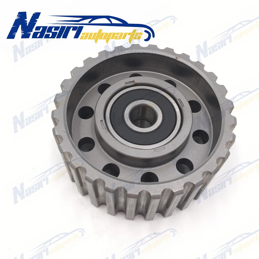 Engine Timing Belt Deflection Guide Idler Pulley for <font><b>Toyota</b></font> <font><b>Hilux</b></font> <font><b>LN106</b></font> LN107 LN111 LN167 LN172 Hiace Prado 2LTE 3L 5L 2LT image