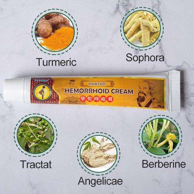 1/2/3/5Pcs Hemorrhoids Soft Ointment External Anal Fissure Plaster 100% Original Chinese Cream Pain Relief 5