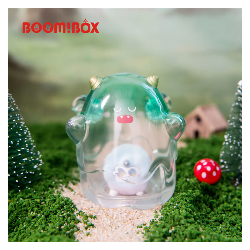 Blind Box UOUO Elf Little Monster Family Series Trendy Girl Heart Hand Doll Decoration Doll Toy Birthday Genuine