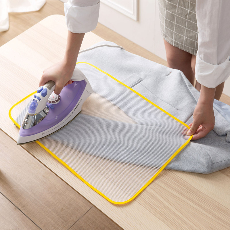1 pcs High Temperature Resistance Ironing Scorch Heat Insulation Pad Mat Household Protective Mesh Cloth Cover in 2 Sizes Hot image