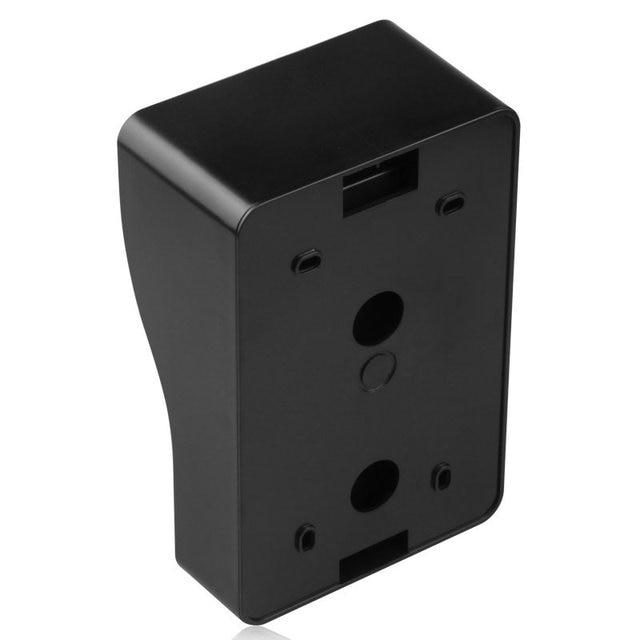 9 inç kablosuz Wifi RFID görüntülü kapı telefonu kapı zili interkom giriş sistemi kablolu IR-CUT 1080P kablolu kamera gece görüş