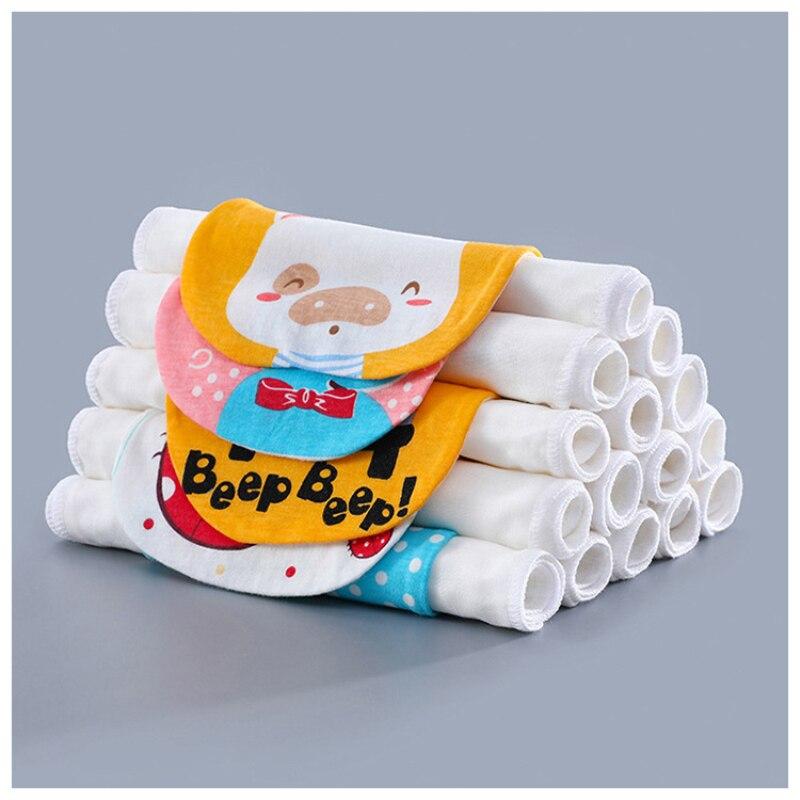 32X24cm Pure Cotton Baby Sweat Towel Baby Stuff For Newborns Security Blanket Infant Girl Boy Wash Cloth Gauze Wipe Sweat Back