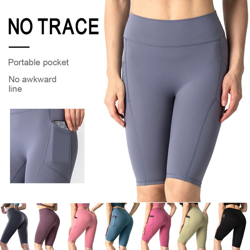 Sports Pants women Calf-length Pants Capri Pant Sport leggings Women Fitness Gym High Waist Leggins Black Dropshipping