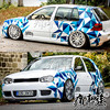 Car stickers FOR Volkswagen Golf 7 exterior decoration decals Golf 6 personalized custom body decoration stickers 1