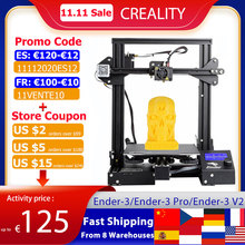 Creality 3D Ender 3/Ender 3 Pro/Ender 3 V2 3D Printer DIY Kit Self assemble with Upgrade Resume Printing MeanWell Power Supply