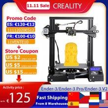 Creality 3D Ender 3/Ender 3 Pro/Ender 3 V2 3D Printer Diy Kit Zelf Monteren Met Upgrade Hervatten Afdrukken meanwell Voeding