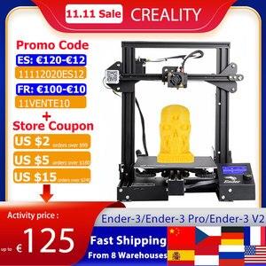 Image 1 - Creality 3D Ender 3/Ender 3 Pro/Ender 3 V2 3D Printer Diy Kit Zelf Monteren Met Upgrade Hervatten Afdrukken meanwell Voeding