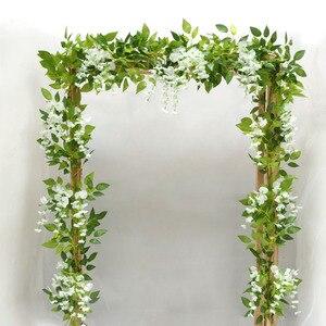 2 meter fake leaf flower vine