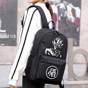 Image 3 - BPZMD sac à dos Dragon Ultra Instinct Goku Z sac à dos lumineux décontracté sacs décole adolescent garçons filles adolescent Mochila Bolsa
