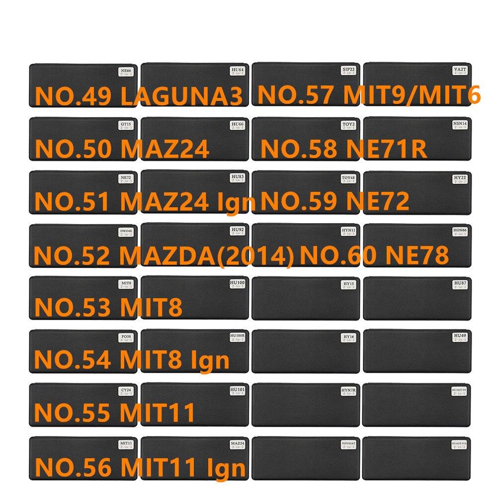 Image 5 - diastar 61 72 lishi 2 in 1 tool NE66 NE38 NSN14 Ign NSN11 SZ14 SIP22 SSY3 TOY43AT TOY 2 track for Renault V.2Locksmith Supplies   -