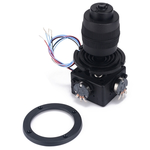 Botão eletrônico do potenciômetro do joystick de 4 eixos para o controlador JH-D400B-M4 10 k 4d com fio para industrial