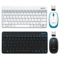 Logitech MK245 USB Nano bezprzewodowa Mini klawiatura mysz 1000DPI ergonomiczne klawiatury myszy combo zestaw do domu notatnik biurowy Laptop