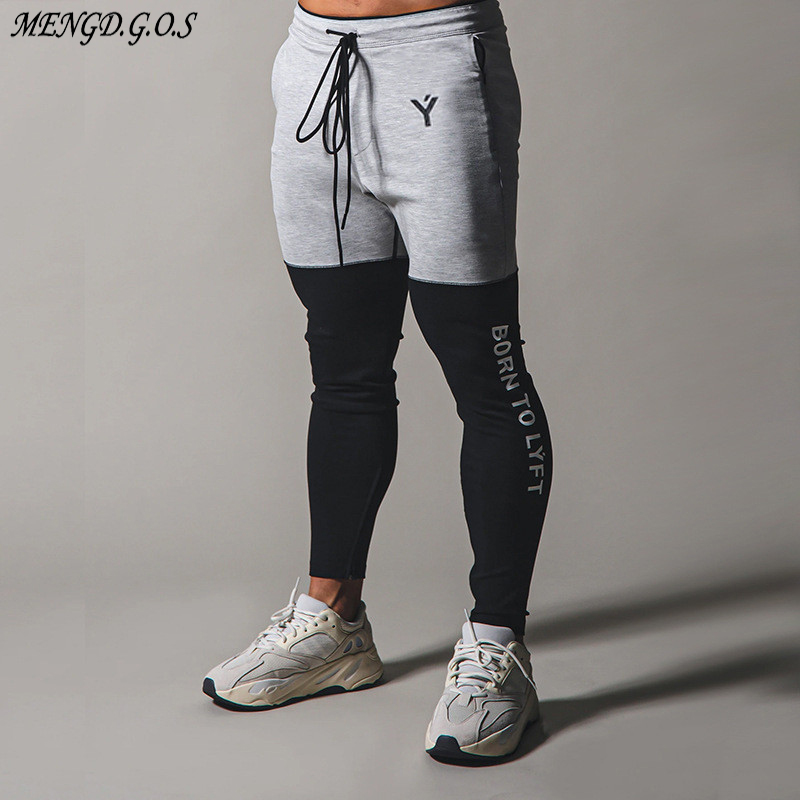 Jogger spring and autumn new streetwear men's casual pants daily outdoor fashion fitness exercise pants