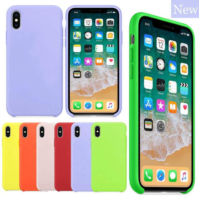CUSTODIA COVER ORIGINALE Per Apple IPHONE 7/8 PLUS SILICONE CASE