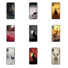 The Beautiful Wild Deer Diy Luxury Phone Case For Huawei Honor Play V10 View Mate 10 20 20X 30 Lite Pro Y3 Y5 Y9 Nova 3 3i Pro(China)