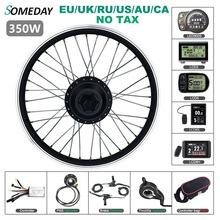 Wheel-Hub-Motor Ebike 48v 350w Bicycle-Kit Conversion-Kit SOMEDAY 36V Rear 700C for 16-20-24-26
