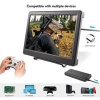 10.1 inch LED Display HDMI LCD Portable Monitor Raspberry Pi Display 2560*1600P Resolution 2K HDMI Computer Screen