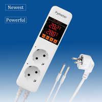 Pymeter digital termostato pid controlador de temperatura termômetro digital termorregulador para aquecimento termostato para incubadora