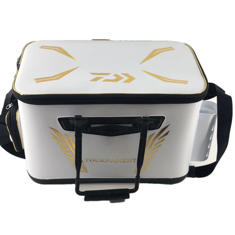 2020 NEW DAIWA EVA Portable Fishing Bag Thicken Live Fishing Box Tank Bucket Camping Fishing Tackle Fishbox Storage Bag|Fishing Tackle Boxes| - AliExpress