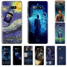 цена на Tardis Box Doctor Who TARDIS Phone Case For Samsung S6 S7 edge S8 S9 S10 e plus A10 A50 A70 note8 J7 2017
