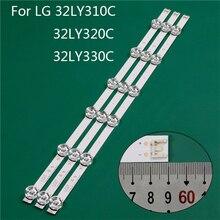 Telewizor LED oświetlenie części zamiennik do LG 32LY330C UA 32LY310C ZA 32LY320C listwa LED pasek podświetlający linii linijka DRT3.0 32 A B