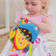 Игрушки для раннего развития Детская тканевая книга неплохая