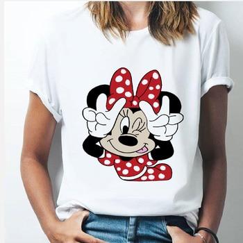 Gran oferta, estilo de tendencia de verano, ropa con estampado bonito, camisa informal Vintage de gasa, Camiseta holgada nueva para mujer, camisetas de moda con estampado 2020 para mujer