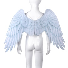 New Arrival Non-Woven Fabric 3D Angel Wings Halloween Mardi Gras Theme Party Costume Cosplay Wings For Children 5-10 Years