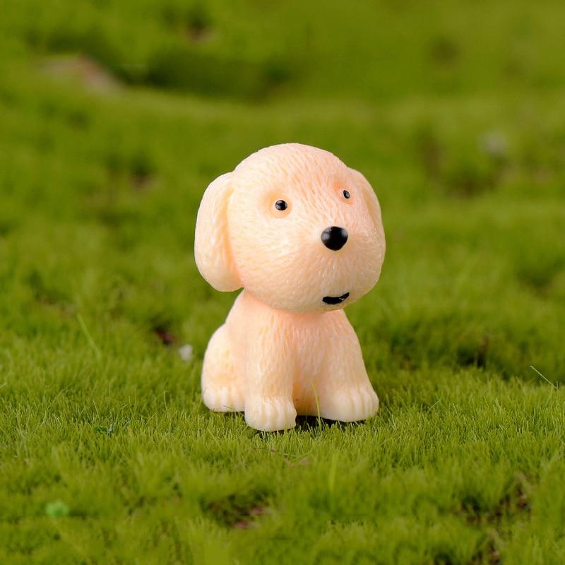 Golden Retriever Cute Resin Bobbing Head Dog Car Dashboard Decor Kids Toys