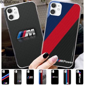 Germany Luxury M BMW Phone Case for iPhone 11 pro XS MAX 8 7 6 6S Plus X 5 5S SE XR case image