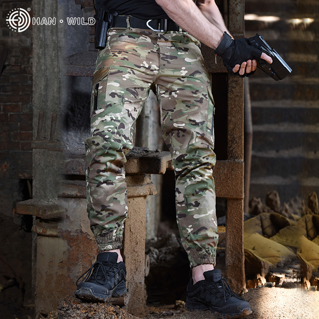 Новые армейские камуфляжные штаны для бега тактические военные