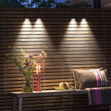 2PCS LED Solar Light Outdoor Lamp  Wall Light Waterproof Solar Powered Sunlight Spotlight for Garden Decoration