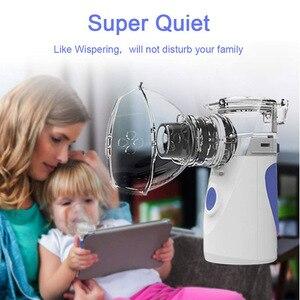 Image 3 - נייד מיני Nebulizer מכשירי אידוי מגניב ערפל כף יד נסיעות קיטור מדחס מכונה אדים עבור מבוגרים וילדים