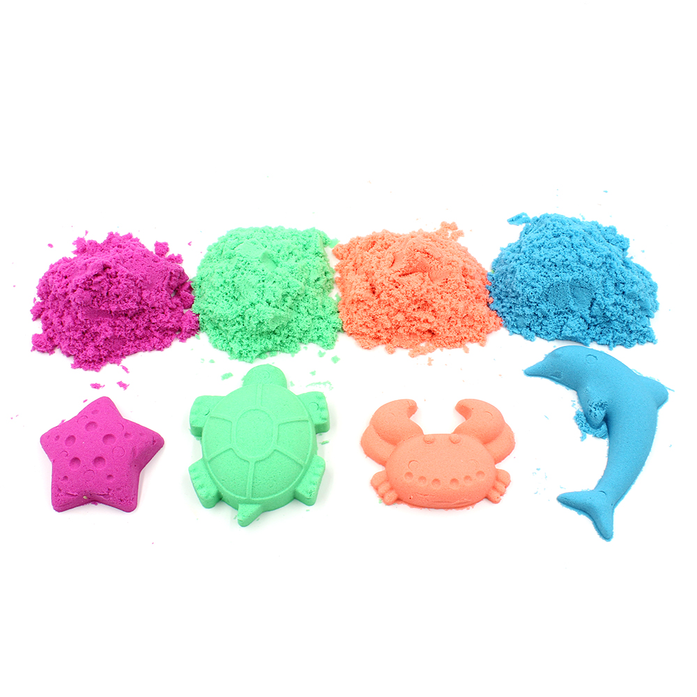 100g Dynamic Sand Toys Educational Colored Soft Magic Slime Space Sand Supplie Indoor Arena Play Sand