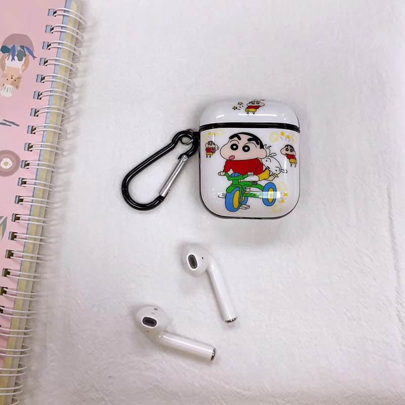 Image 3 - Hot Painted Stitch Soft Silicone Wireless Earphone Charging Cover Bag for Apple AirPods 1 2 cute bear Bluetooth Box Headset case-in Earphone Accessories from Consumer Electronics
