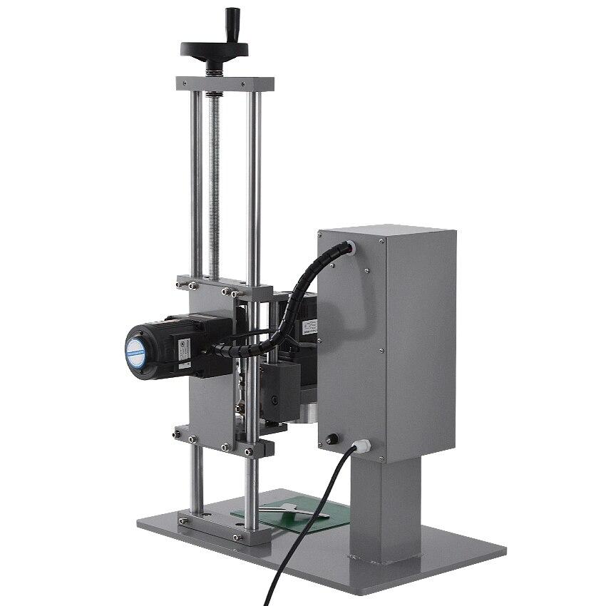 Máquina tampando automática 110 v/220 v 70kw 10 50mm da garrafa do desktop de alta qualidade da máquina ddx450 do parafuso da multi função - 2