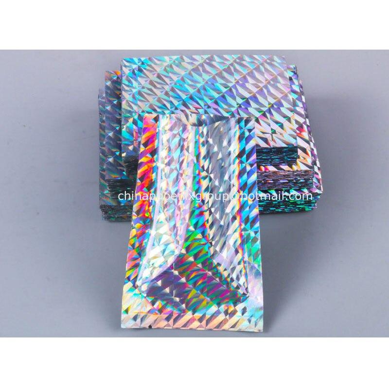 7x10cm Aluminum Foil Mylar Bags Heat Seal Vacuum Food Storage Pouch 100-500pcs