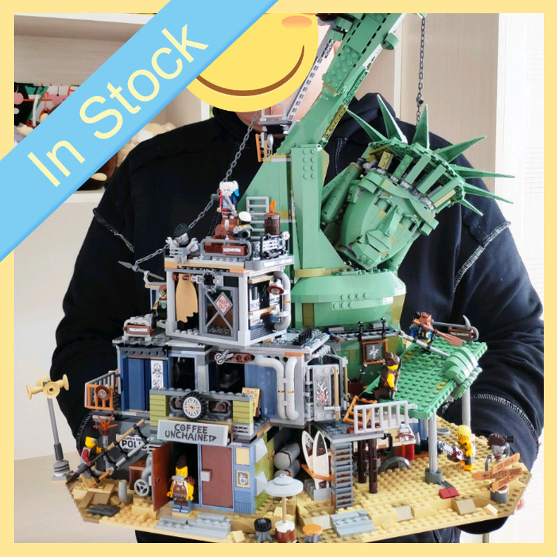 In stock 45014 3560Pcs Movie 2 series Welcome to APOCALYPSEBURG Model Building Blocks Bricks child Toys Christmas gifts <font><b>70840</b></font> image