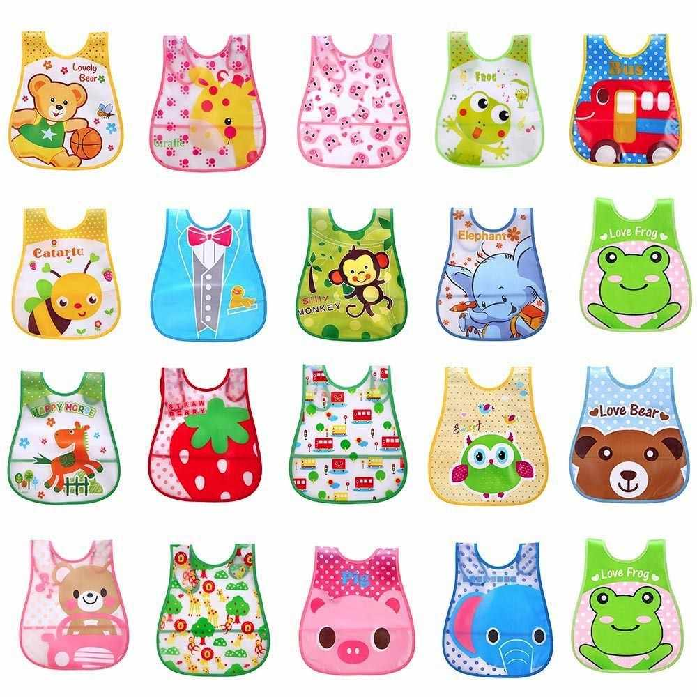 Cute Kid Infant Bibs compact design Baby Soft Cartoon Bib Waterproof convenience Saliva Dripping Bibs bavoir bandana yl