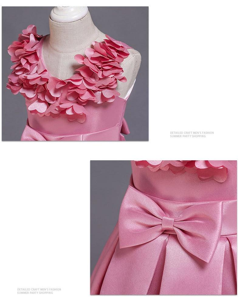 He44a5c434fe54ce59c0293da7784cb2e4 Kids Dresses For Girls Elegant Princess Dress Christmas Children Evening Party Dress Flower Girl Wedding Gown vestido infantil