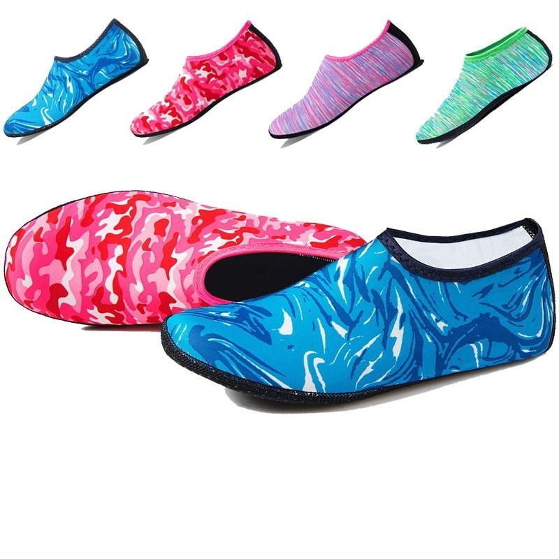 Men Women Beach Swim Water Shoes Barefoot Swimming Aqua Shoes Socks Seaside Sneaker Slippers Gym Fitness Yoga Dance Sport Shoes