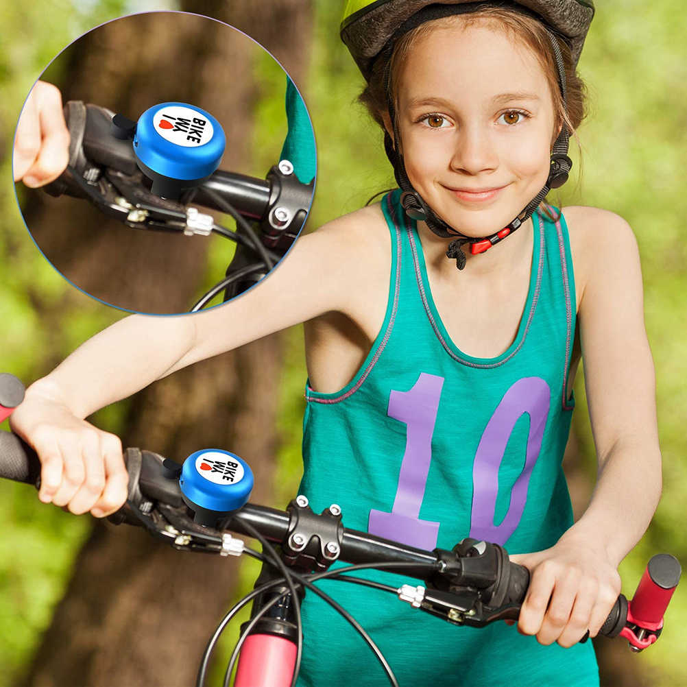 Alloy Bike Ring Kids Bicycle Classic Crisp Clear Bell Child Hooter Alarm