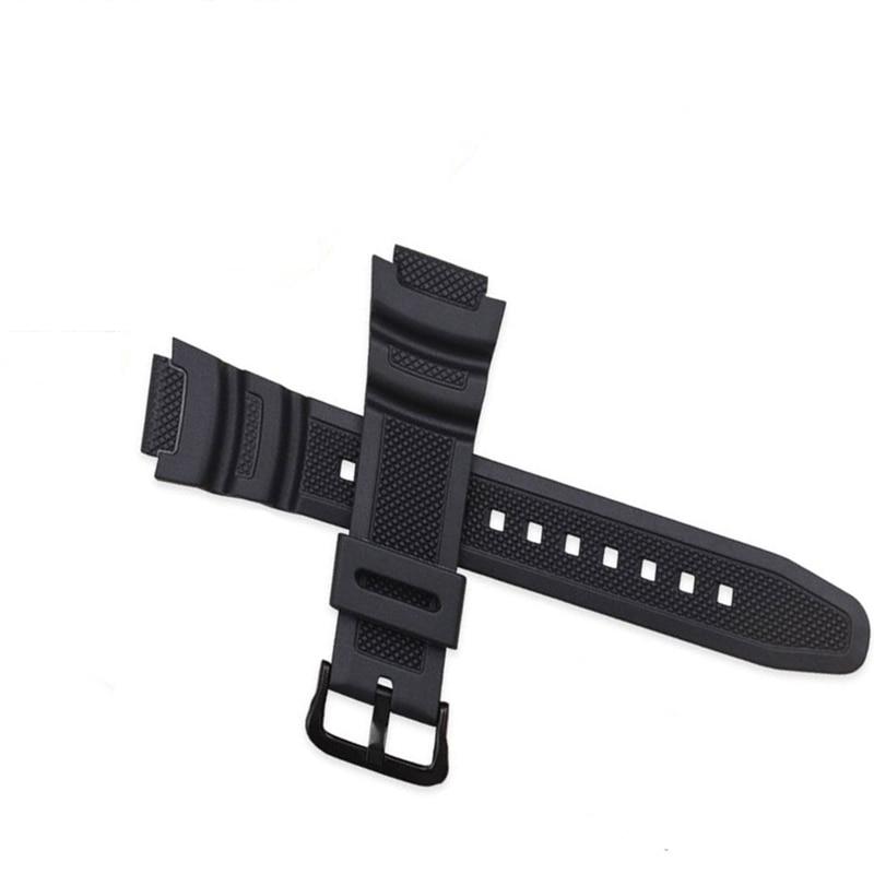 Rubber Watch Strap For Casio AE-1000w AQ-S810W SGW-400H / SGW-300H Watch Bracelet For Casio Sports Watchband For Casio Correa