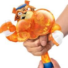 Animal elástico boneca decompress respiradouro brinquedos engraçado bonito homem de borracha herói elástico animal extrusão descompressão brinquedo crianças adultos
